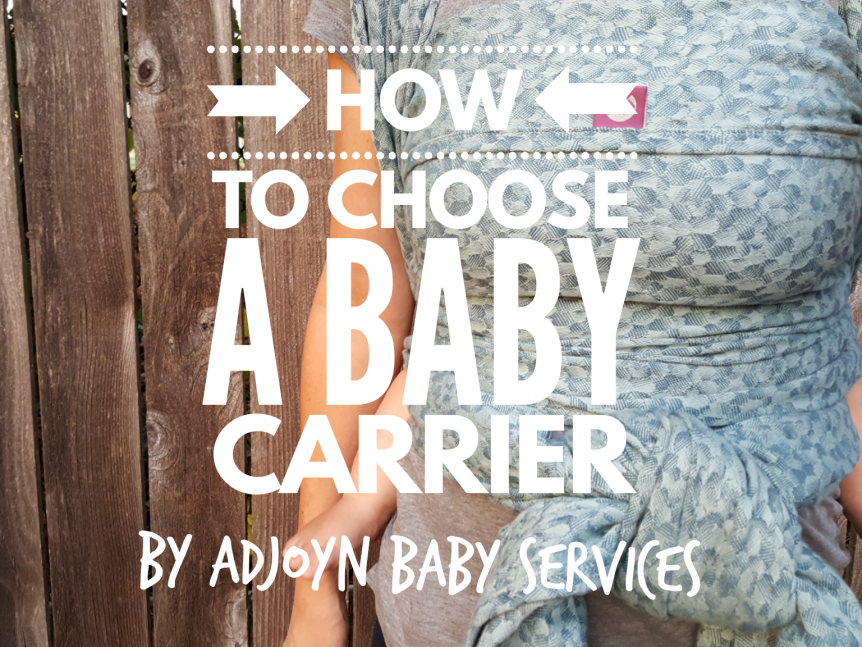 how to choose a baby carrier in portland oregon