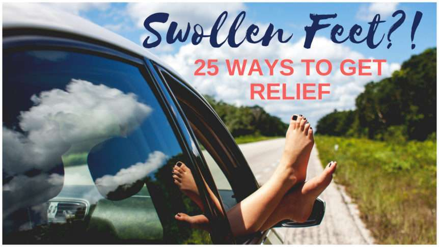 Natural Remedies to get relief from Pregnancy foot swelling