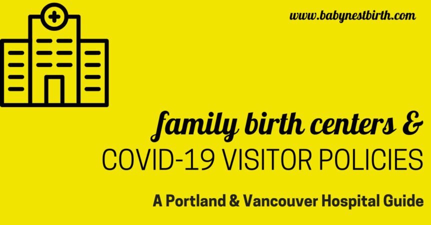Portland hospitals and covid-19 visitor policy