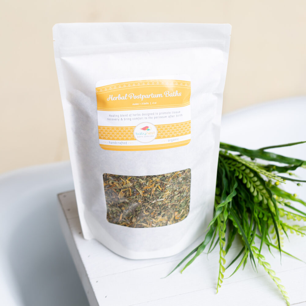 Herbal Postpartum Sitz Baths