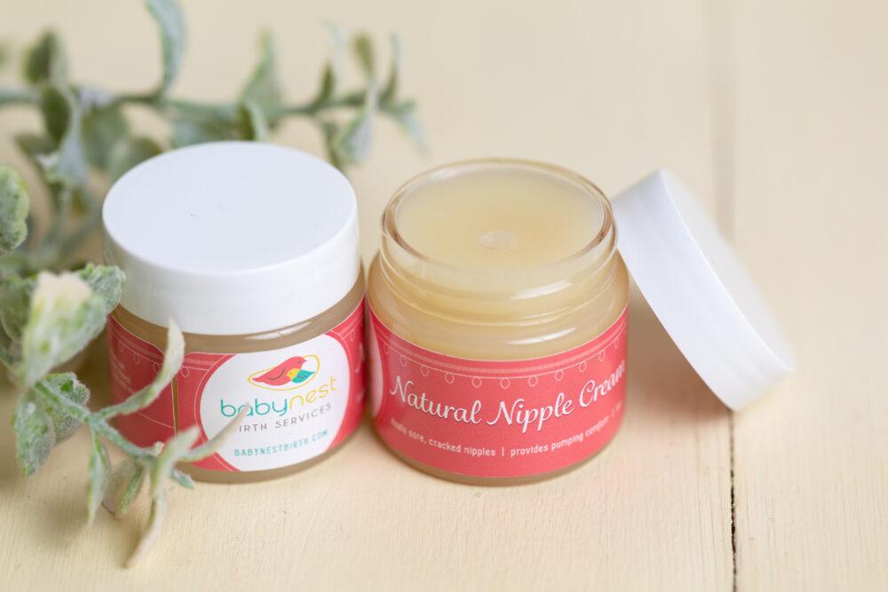 Organic nipple cream